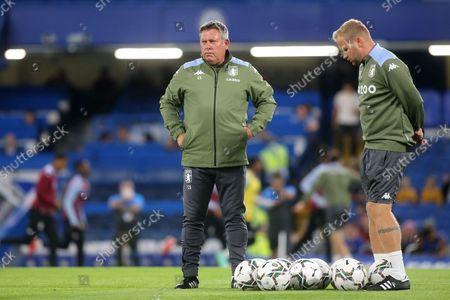 Stock Photo of Aston Villa Assistant Head Coach, Craig Shakespeare during Chelsea vs Aston Villa, Carabao Cup Football at Stamford Bridge on 22nd September 2021