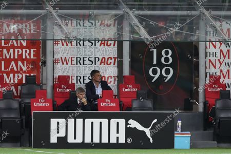 Editorial image of Italian football Serie A match AC Milan vs Venezia FC, Milan, Italy - 22 Sep 2021