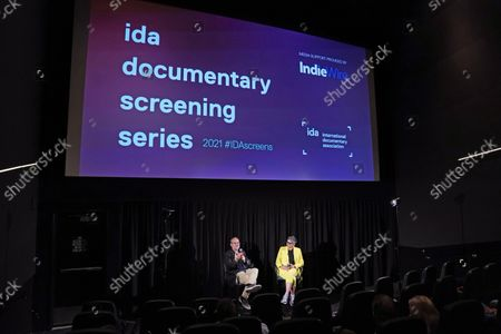 Editorial image of 'Roadrunner: A Film About Anthony Bourdain' IDA Outdoor Screening, Los Angeles, California, USA - 21 Sep 2021
