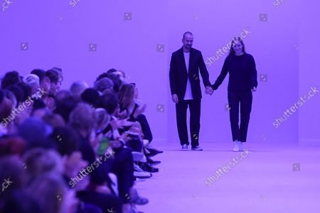 Editorial image of Jil Sander show, Runway, Spring Summer 2022, Milan Fashion Week, Italy - 22 Sep 2021