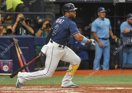 Editorial photo of MLB Blue Jays Rays, St. Petersburg, Florida, United States - 22 Sep 2021