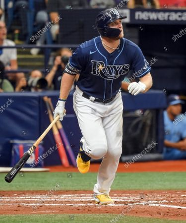 Editorial picture of MLB Blue Jays Rays, St. Petersburg, Florida, United States - 22 Sep 2021