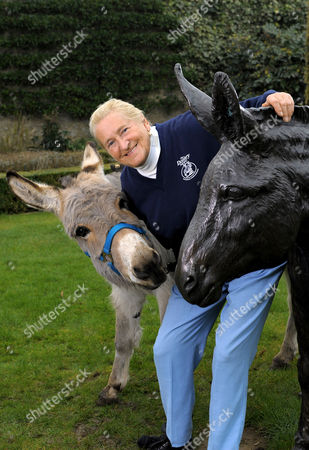 Editorial photo of Dr. Elizabeth Svendson, founder of ther Devon Donkey Santuary, Devonshire, Britain - 28 Feb 2008