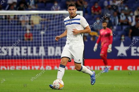 Alberto Rodriguez during the match between RCD Espanyol and Deportivo Alaves, corresponding to the week 6 of the Liga Santander, played at the RCDE Stadium, on 22th September 2021, in Barcelona, Spain.  --