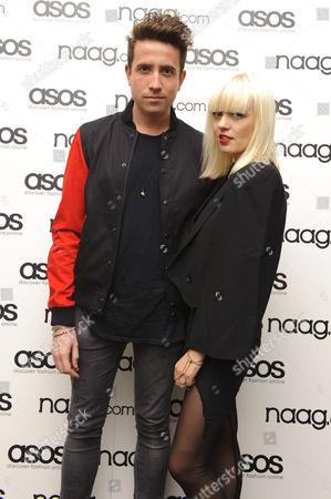 Nick Grimshaw and Fiona Byrne