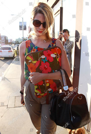 Editorial image of Mischa Barton leaving the Warren-Tricomi Salon in West Hollywood, Los Angeles America - 06 Nov 2010