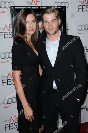 Stock Image of Mike Vogel and wife Courtney Vogel