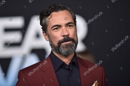"""Danny Pino arrives at the premiere of """"Dear Evan Hansen"""", at the Walt Disney Concert Hall in Los Angeles"""