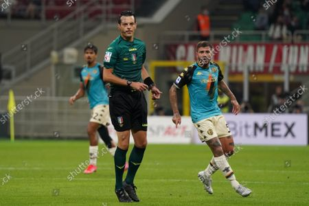Referee Ivano Pezzuto