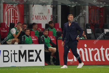 The coach Paolo Zanetti (Venezia)