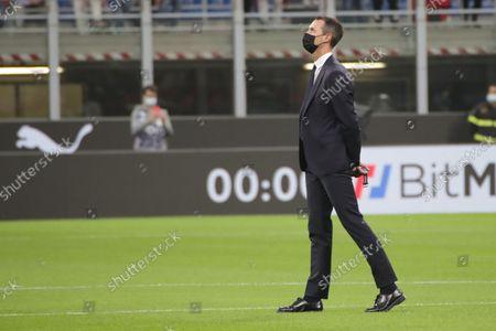 Editorial photo of AC Milan vs Venezia FC - Serie A, Italy - 22 Sep 2021