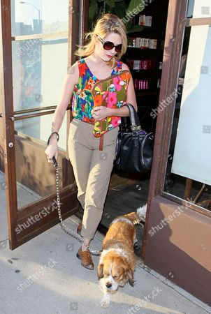 Editorial photo of Mischa Barton leaving the Warren-Tricomi Salon in West Hollywood, Los Angeles America - 06 Nov 2010