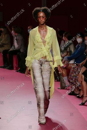 Blumarine show, Runway, Milan Fashion Week