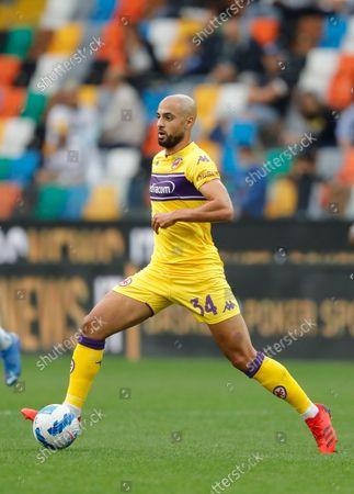 Stock Photo of Fiorentina's Sofyan Amrabat.