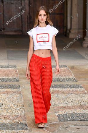Genny show, Runway, Milan Fashion Week