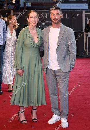Katherine Ryan and Bobby Kootstra
