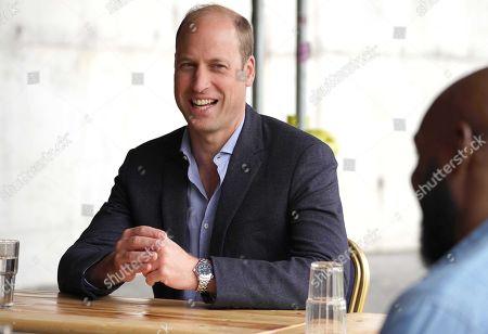 Duke of Cambridge visit to Dulwich Hamlet FC, London