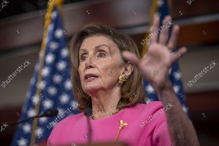 Nancy Pelosi press conference, Washington DC