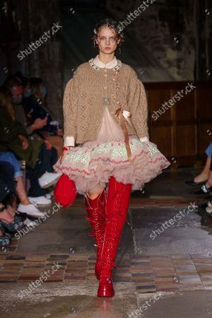 Editorial image of Simone Rocha show, Spring Summer 2022, London Fashion Week, UK - 20 Sep 2021