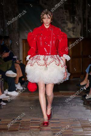 Editorial photo of Simone Rocha show, Spring Summer 2022, London Fashion Week, UK - 20 Sep 2021