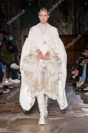 Editorial picture of Simone Rocha show, Spring Summer 2022, London Fashion Week, UK - 20 Sep 2021