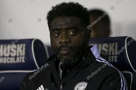 Leicester City assistant manager Kolo Toure before the match during the Carabao Cup match between Millwall and Leicester City at The Den, London on Wednesday 22nd September 2021.
