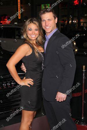 Meghan Jones with Jake Pavelka