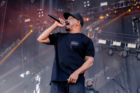 Sen Dog of Cypress Hill performs at Louder Than Life Festival 2021 at Highland Festival Grounds, in Louisville, Ky