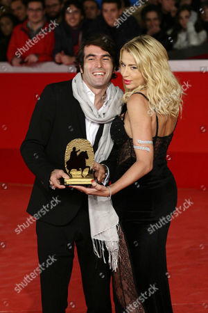 Christian Molina and Valeria Marini