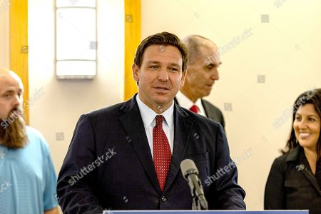Ron DeSantis speaking to the press about new doses of Mono-Clodal Antibodies that will be availible to Floridians