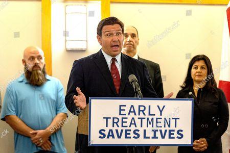 Ron DeSantis Mono-Clodal Antibody Therapy press conference, Tampa