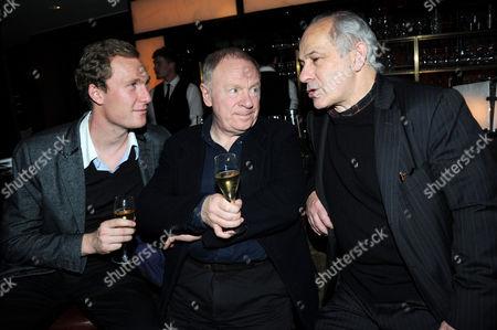 Sam Hoare, David Shaw-Parker and Nick Woodeson