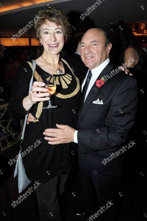 Arnold M Crook and Maureen Lipman