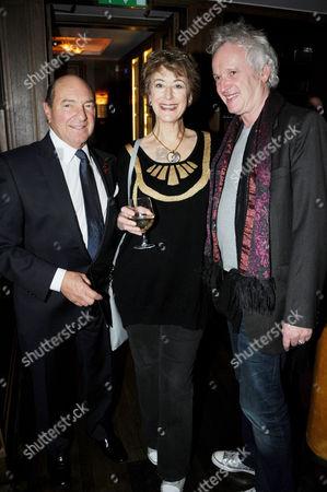 Arnold M Crook, Sean Mathias and Maureen Lipman