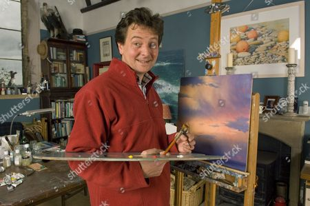 Stock Picture of Andrew Stock in his studio.