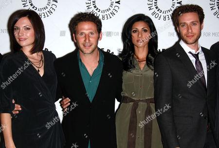 Jill Flint, Mark Feuerstein, Reshma Shetty and Paulo Costanzo