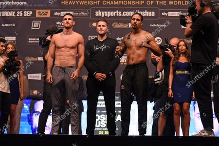 Editorial image of Joshua vs Usyk Weigh-In, Boxing, The O2, London, UK - 24 Sep 2021