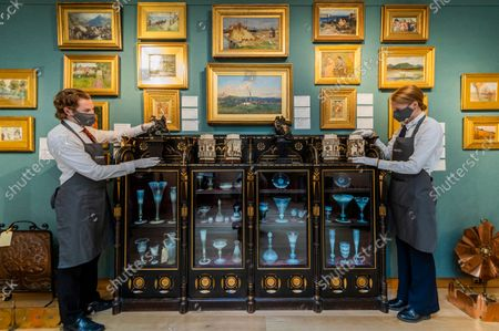 An Aesthetic Odyssey - The Peter Rose and Albert Gallichan Collection, at Christies King Street, London. It will be offered for sale in a live auction on 30 September 2021. The couple were pioneering collectors of 19th Century fine and decorative arts and this collection was assembled over the course of a lifetime from the 1950s onwards. Ensuring that the scholarly legacy of their life's work lives on, the proceeds from the sale  - which is expected to realise in excess of £1 million, with estimates starting from £500 - will benefit The Albert Dawson Educational Trust.