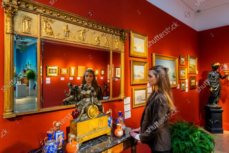 Editorial photo of Preview of An Aesthetic Odyssey - The Peter Rose and Albert Gallichan Collection at Christies, London., King Street, London, UK - 24 Sep 2021