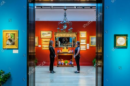 Editorial picture of Preview of An Aesthetic Odyssey - The Peter Rose and Albert Gallichan Collection at Christies, London., King Street, London, UK - 24 Sep 2021