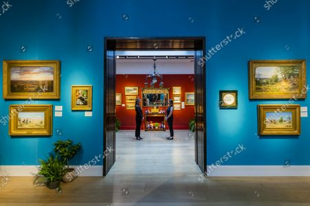 Editorial image of Preview of An Aesthetic Odyssey - The Peter Rose and Albert Gallichan Collection at Christies, London., King Street, London, UK - 24 Sep 2021