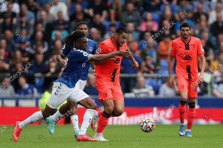 Editorial image of Everton v Norwich City, Premier League, Football, Goodison Park, Liverpool, UK - 25 Sep 2021