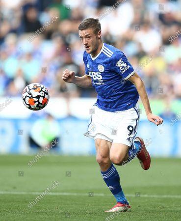 Stock Photo of Jamie Vardy of Leicester City