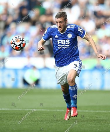 Stock Image of Jamie Vardy of Leicester City