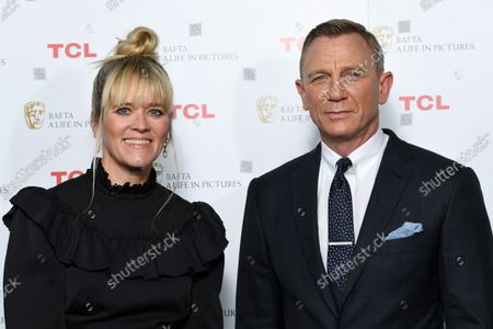 Stock Picture of Edith Bowman and Daniel Craig