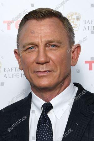 Editorial image of BAFTA: A Life in Pictures, Daniel Craig, supported by TCL, London, UK - 24 Sep 2021