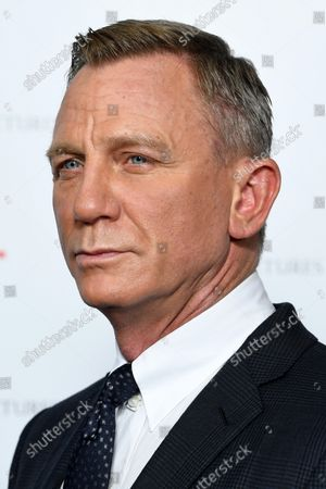Editorial picture of BAFTA: A Life in Pictures, Daniel Craig, supported by TCL, London, UK - 24 Sep 2021