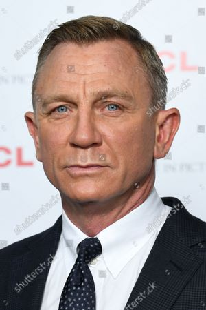 Editorial photo of BAFTA: A Life in Pictures, Daniel Craig, supported by TCL, London, UK - 24 Sep 2021