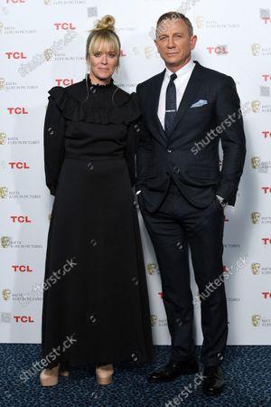 Stock Photo of Edith Bowman and Daniel Craig