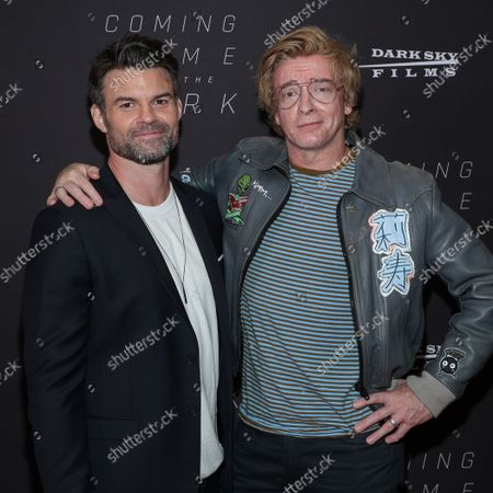 Rhys Darby and Daniel Gilles